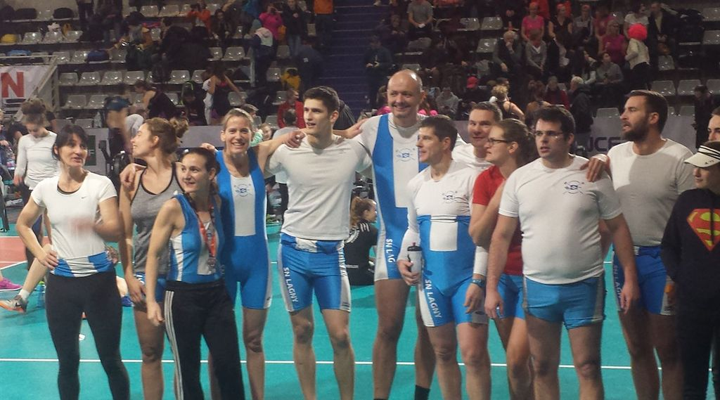 Championat de France et open d'aviron Indoor 2018