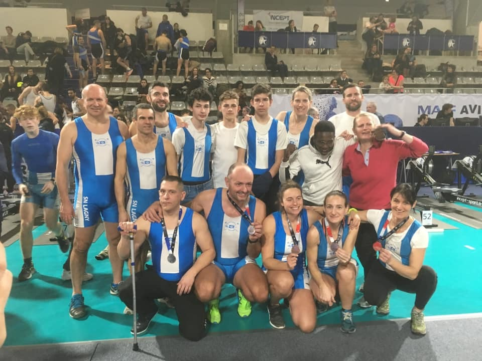 Championnats de France d'aviron indoor 2019 !