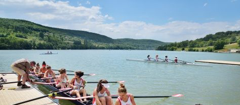 Les Championnats de France Junior 2020 Sur Le Lac Du Causse